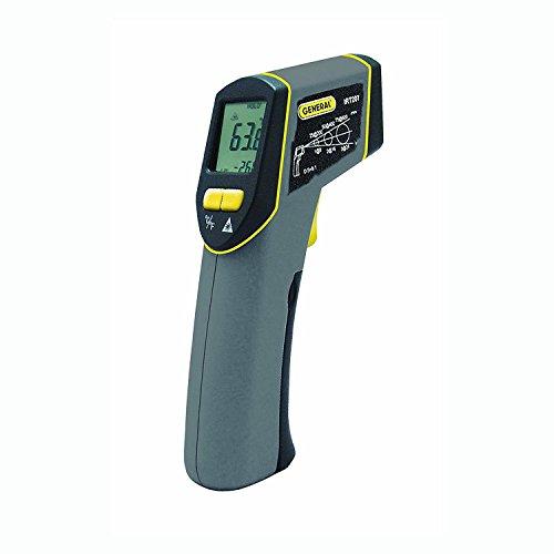 General Tools IRT207 Laser Temperature Gun, Thermal Detector, 8:1 Mid-Range Infrared Thermometer