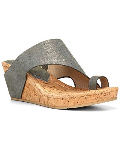 Donald J Pliner Women's Gyer 2 Light Pewter/Light Pewter Shoe