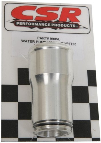 CSR Performance 9905L 1-1/16'' x 1-1/2'' x 3'' Water Pump Hose Adapter