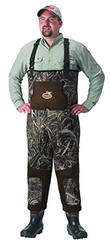 Waterfowl Wading Systems Max-5 Neoprene Bootfoot Wader, 9 Stout