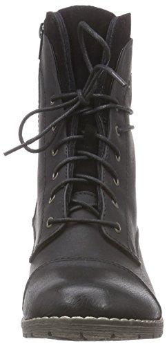 Rieker Damen 92501 Kurzschaft Stiefel Schwarz (schwarz/schwarz / 00)