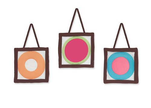 Modern Deco Dot Wall Hanging Accessories by Sweet Jojo Designs