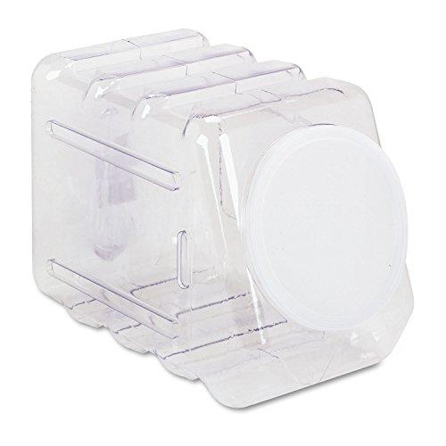 Interlocking Storage Container (Pacon 27660 Interlocking Storage Container with Lid, Clear Plastic)