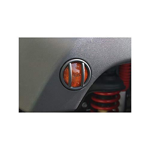 Grille de protection clignotant aile US noire (2) Jeep Wrangler JK Kulture Jeep