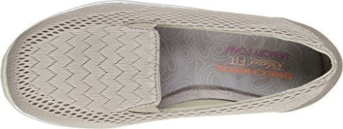 Skechers Women's Relaxed Fit Reggae Fest Willows Slip On,Dark Taupe,US 8.5 M by Skechers