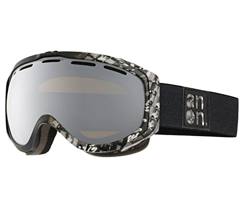 Anon Hawkeye Snow Goggles Stagg with Silver Solex Lens Anon Hawkeye Snow Goggles