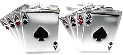 Kiola Designs Four Aces Cufflinks