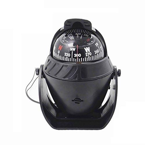 Lixada高精度車磁気コンパス多機能LEDライト電子ナビゲーションSea Marine Boat Shipコンパス