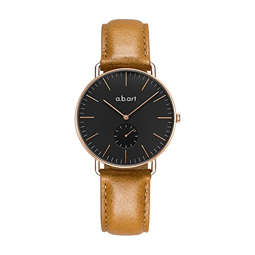 a.b.art FR36-015-3L Women watches Rose Gold Sapphire Glass Wrist Watches for Women by a.b.art