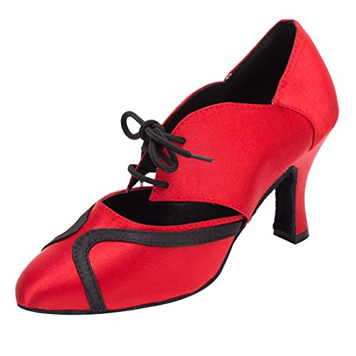 TDA - Zapatos con tacón mujer 8cm Heel Red