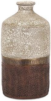 IMAX 73402 Sabah Small Terracotta Vase,,Small