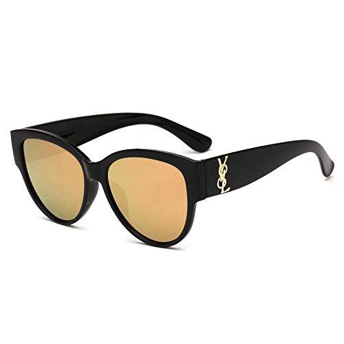 de de De y los color Unidos Europa deslumbrante de Estados de gafas sol la de Retro sol moda hombres F de Aoligei gafas H76dw7q