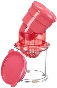 Mastrad F33104 - Exprimidor con tapa, color rosa