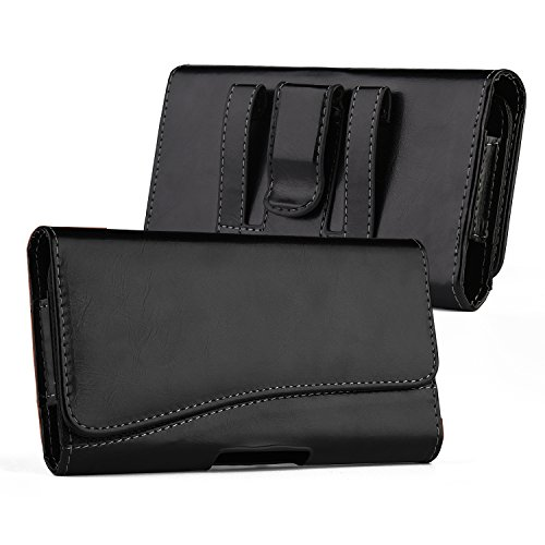 kiwitatá Horizontal PU Leather Belt Clip Holster Pouch Carrying Holder Case for iPhone 7 iPhone 8 iPhone 6/6S