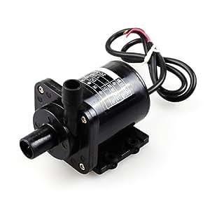 riorand5–12V DC magnético Micro sin escobillas bomba de alta temperatura 65* C Solar bomba de agua caliente