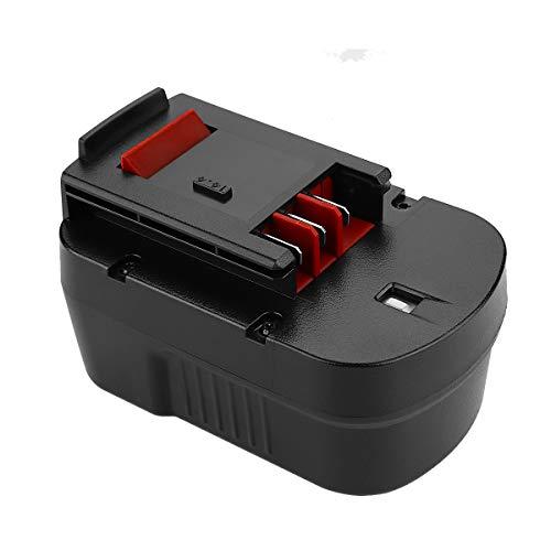 Powilling 2Pack 3.5Ah 14.4V HPB14 Replacement Battery for Black+Decker HPB14 FireStorm HPB14 FSB14 FS140BX 499936-34 499936-35 A14 A144EX A1714 BD1444L HPD14K-2 CP14KB HP146F2 HP148F2R