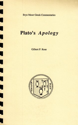 Plato's Apology (Greek Commentaries Series)(Greek &...