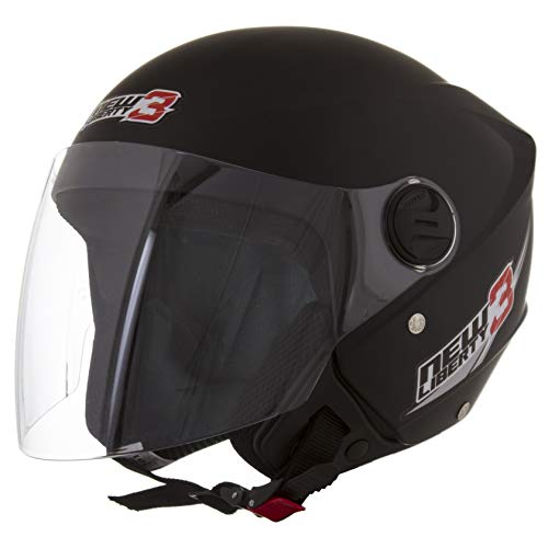 Pro Tork Capacete New Liberty Three 58 Preto Fosco