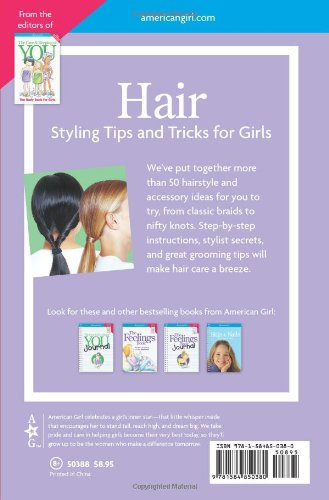 Hair- Styling Tips and Tricks for Girls (American Girl) (American Girl Library) Spiral-bound ...