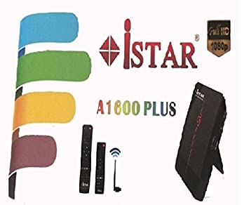 iStar A8000 Plus IPTV Box with 6 Months Free Online TV Full HD 1700+