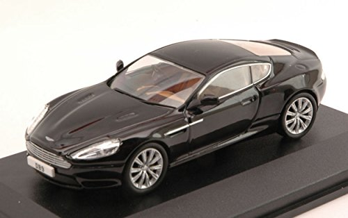 Db9 Aston Martin Coupe (OXFORD OXFAMDB9002 ASTON MARTIN DB9 COUPE' 2004 BLACK 1:43 MODELLINO DIE CAST)