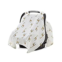aden + anais Car Seat Canopy, Jungle Jam
