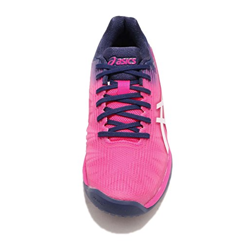 resolution Baskets Rose Gel Blanc 7 Hommes Asics Flash qwE4ISS