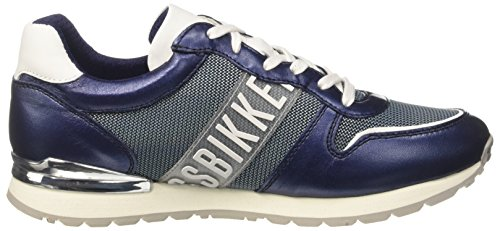 Bikkembergs Pow-Er 659, Zapatillas Para Mujer, Azul (Nero), 37 EU