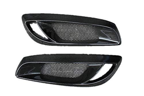 Eppar New Carbon Fiber Front Fog Light Covers for Hyundai Genesis Coupe 2008-2012 (2PCS)