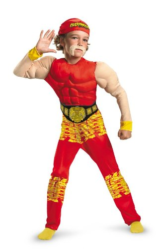 Hulk Hogan Muscle Child Costume (Kids Hulk Hogan Costume)