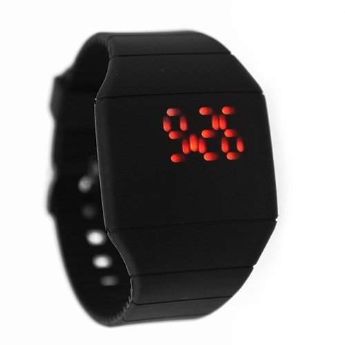 Led Watch Red Light - 7