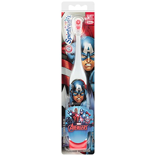 Spinbrush Avengers Super Hero Toothbrush