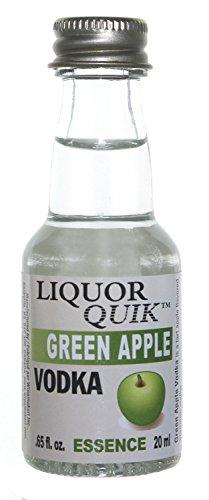 Liquor Quik Natural Vodka Essence, 20 mL (Green Apple Vodka)