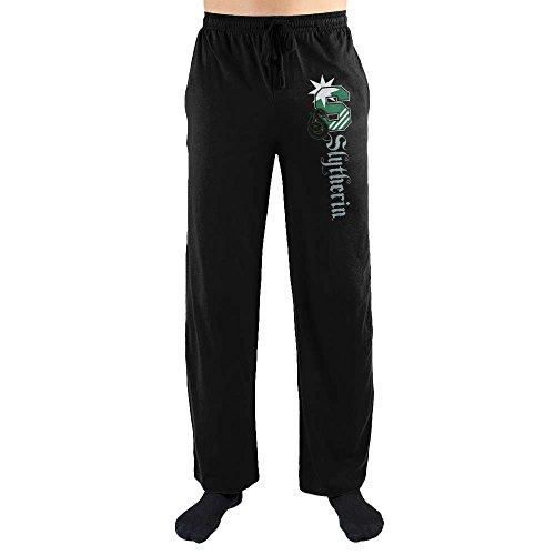 Harry Potter S Slytherin Logo Print Men's Loungewear Lounge Pants Small from Bioworld