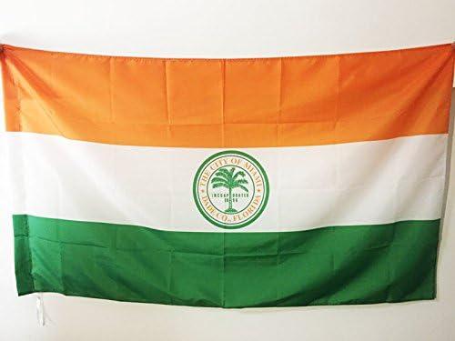 AZ FLAG Bandera de la Ciudad DE Miami 150x90cm para Palo - Bandera ...
