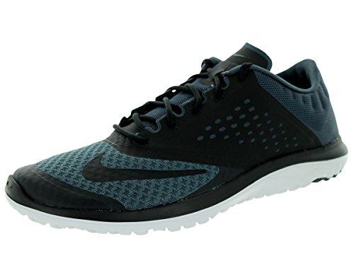 Nike FS LITE RUN 2 Zapatillas para Correr Running Negro Rojo para Hombre gris - gris