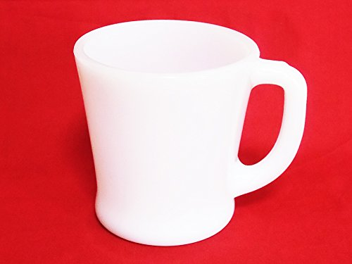 Fire King White D handle mug FIRE KING Mug -