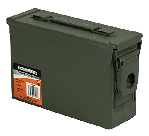 BLACKHAWK Empty Ammunition Canister Green product image