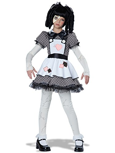California Costumes Haunted Doll Child Costume, -
