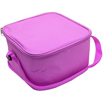 Bentgo Bag - Insulated Lunch Box Bag Keeps Food Cold On The Go - Purple