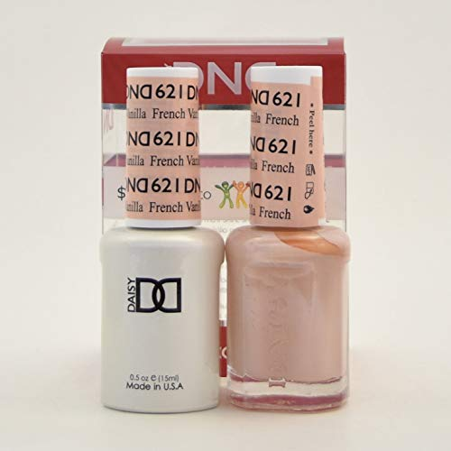 (DND Duo Gel - French Vanilla - (Diva Collection) 621)