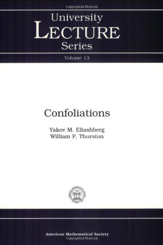 Confoliations (University Lecture Series)