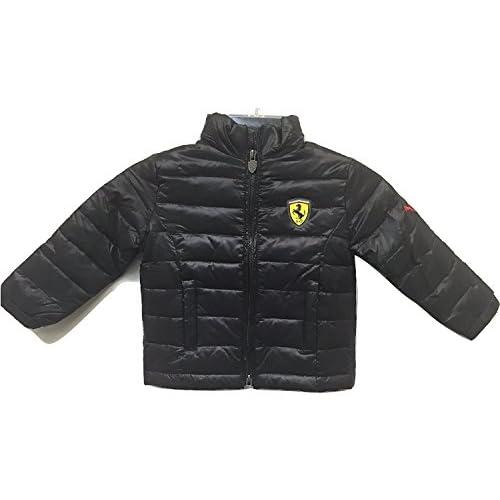 discount Puma Ferrari Boy's Puffy Jacket Black free shipping