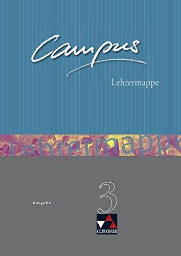 Campus - Ausgabe C. Gesamtkurs Latein in drei Bänden / Campus C Lehrermappe Basis 3: Zu den Lektionen 77-104
