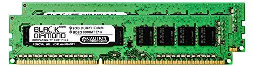 (4GB 2X2GB RAM Memory for Compaq ProLiant BL460c G6 Server Blade Black Diamond Memory Module 240pin PC3-12800 1600MHz DDR3 ECC UDIMM Upgrade)