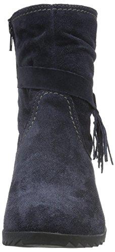 Tamaris 25006, Botines para Mujer Azul (NAVY 805)