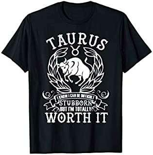 ⭐️⭐️⭐️ Taurus Zodiac Tshirt for women man Real Birthday Gift Need Funny Short/Long Sleeve Shirt/Hoodie