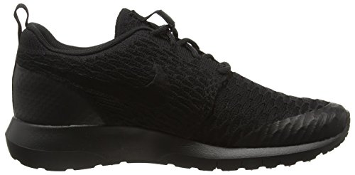 Nike Roshe Nm Flyknit Se Scarpe Da Ginnastica Basse Uomo Negro black black 40 Eu
