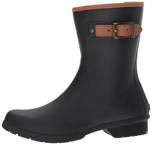 Chooka Women's Mid-Height Memory Foam Rain Boot, Black, 8 M US by Chooka (Image #5)