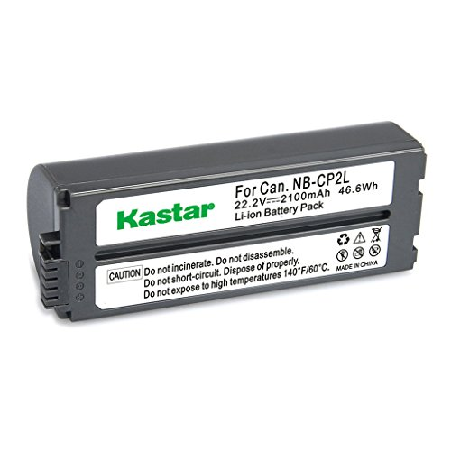 Kastar Battery NB-CP2L (X3) and Charger BG-CP200 for Canon NB-CP1L CP2L and Compact Photo Printer SELPHY CP100 CP200 CP220 CP300 CP330 CP400 CP510 CP600 CP710 CP730 CP770 CP780 CP790 CP800 CP900 CP910 by Kastar (Image #2)